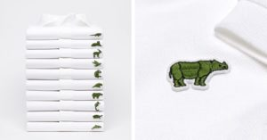 Lacoste Features Endangered Species as Logo